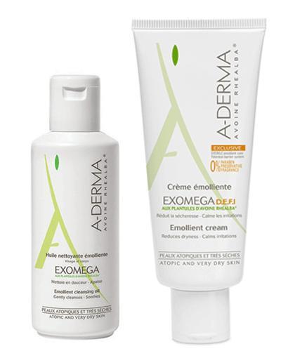 A-Derma Exomega steril krem og dusjolje 2x200ml