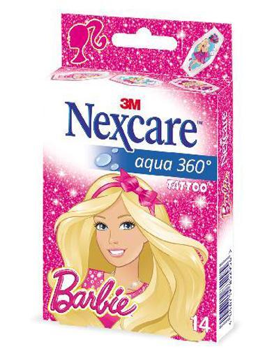Nexcare Aqua 360 Barbie plaster 14stk