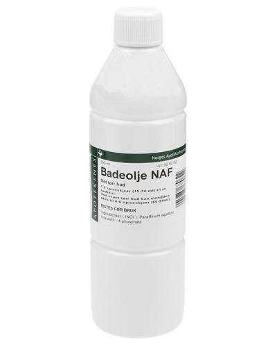 Badeolje NAF 500ml
