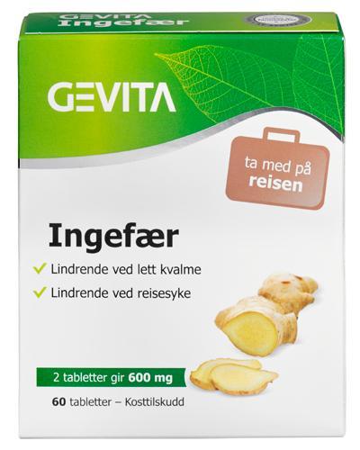 Gevita ingefær tabletter 60stk