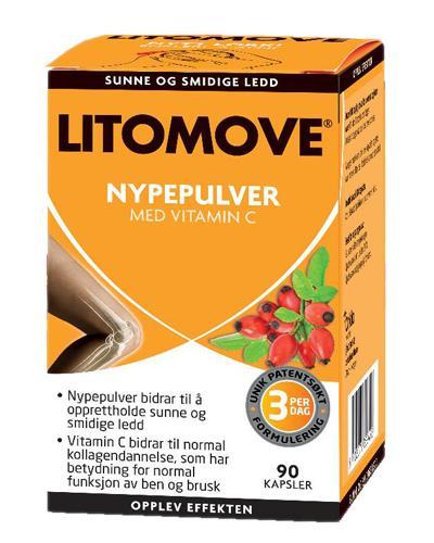 Litomove nypepulver med C-vitamin kapsler 90stk