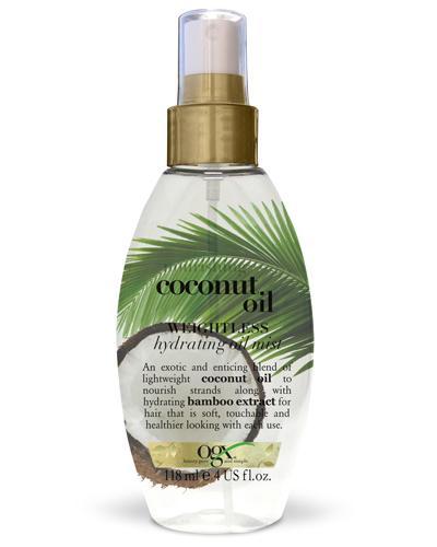 Ogx Coconut Oil weightless hydrating hårolje spray 118ml