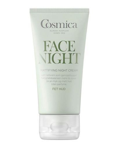 Cosmica Face mattifying nattkrem fet hud 50ml