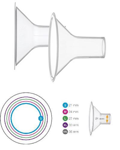 Medela Personal Fit brysttrakt str S (21mm) 2stk