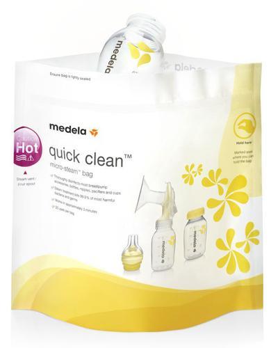 Medela Quick Clean rengjøringspose 5stk