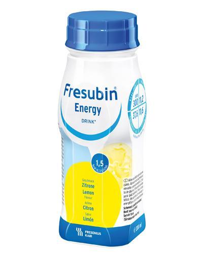 Fresubin Energy Drink næringsdrikk sitron 4x200ml