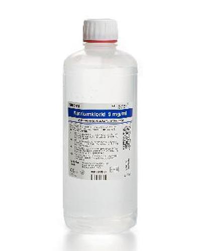 Natriumklorid 9 mg/ml helleflaske 1000ml