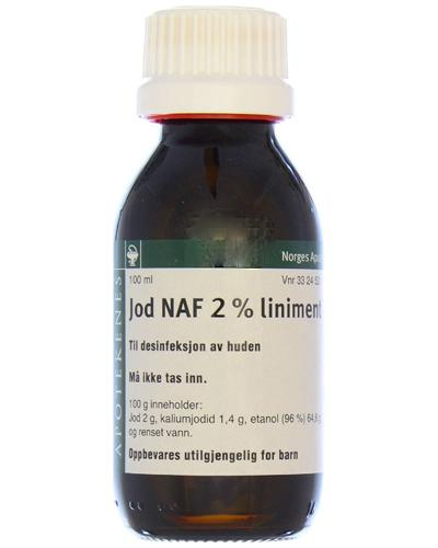 Jod NAF 2% liniment 100ml