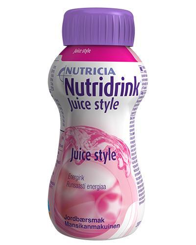 Nutridrink Juice style jordbær 200ml