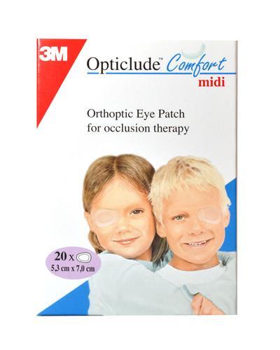 Opticlude Comfort øyelapp midi 20stk