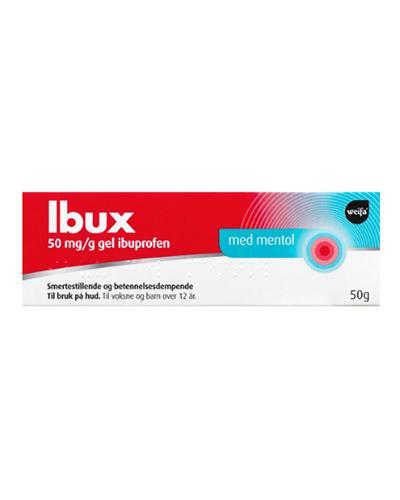 Ibux 5% gel mentol 50g