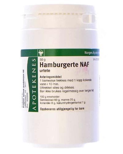 Hamburgerte NAF urtete 50g