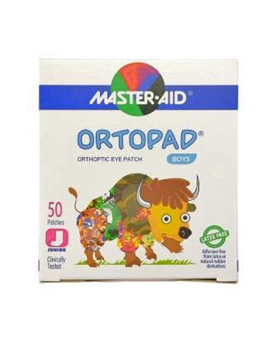 Masteraid Ortopad øyeplaster gutter junior/small 50stk
