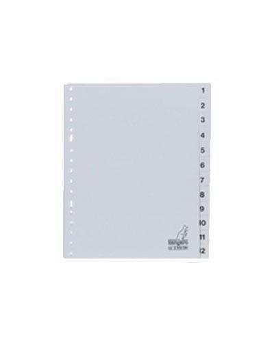 Register A5 plast 1-12 1sett
