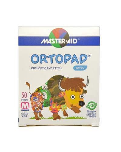 Masteraid Ortopad øyeplaster gutter medium 50stk