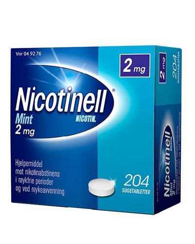 Nicotinell 2mg sugetabletter mint 204stk