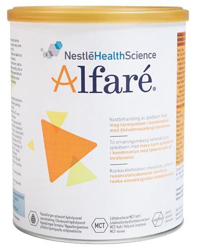 Alfaré spedbarnsernæring 400g