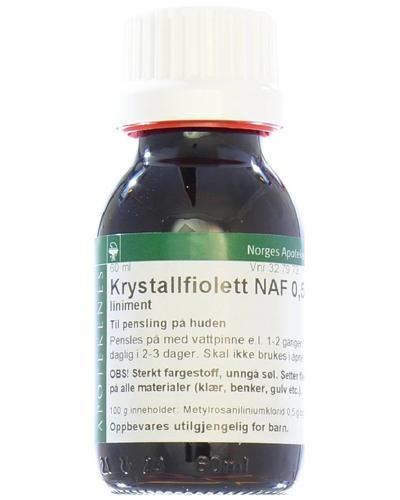 Krystallfiolett NAF 0,5% liniment 60ml