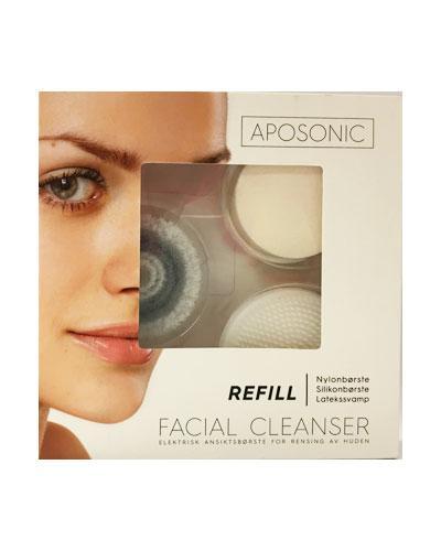Aposonic Facial Cleanser ansiktsbørste refill 3stk