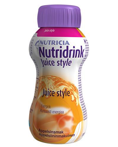 Nutridrink Juice style appelsin 200ml