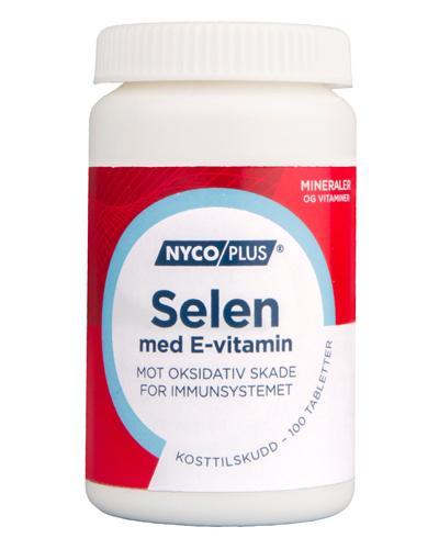 Nycoplus Selen med E-vitamin tabletter 100stk