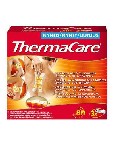 ThermaCare varmeomslag fleksibel bruk 3stk
