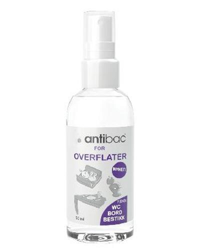 Antibac overflatedesinfeksjon spray 50ml