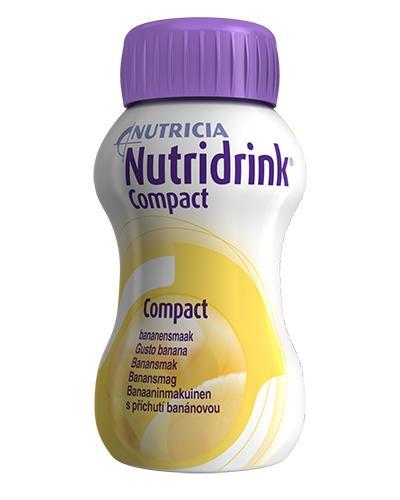 Nutridrink Compact næringsdrikk banan 4x125ml