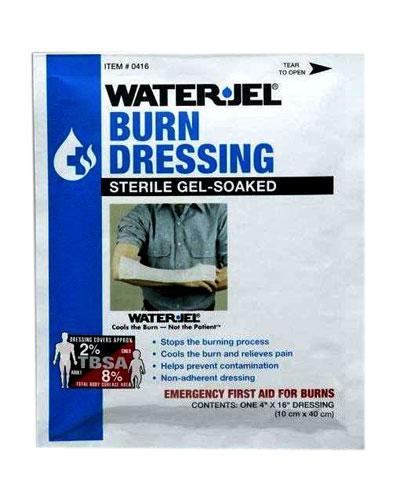 Water-Jel brannbandasje 10x40cm 1stk