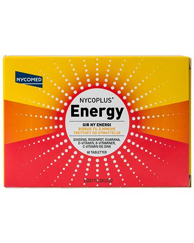 Nycoplus Energy tabletter 60stk