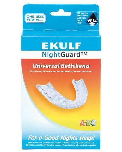 Ekulf nightguard biteskinne 1stk