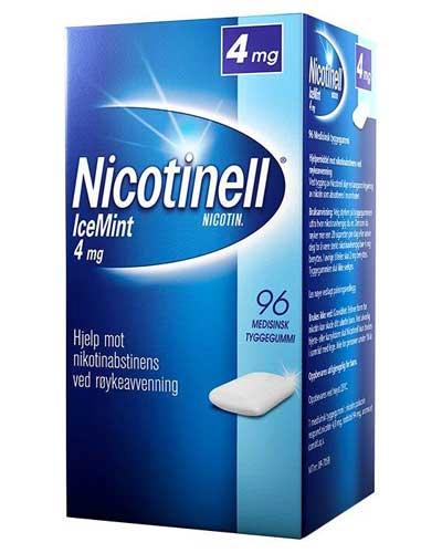Nicotinell 4mg tyggegummi icemint 96stk