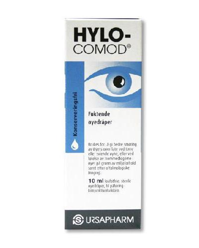 Hylo-Comod øyedråper 10ml