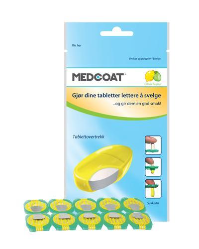 Medcoat tablettovertrekk 10stk