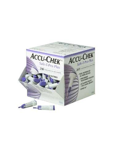 Accu-Chek Safe-T Pro engangslansett 200stk