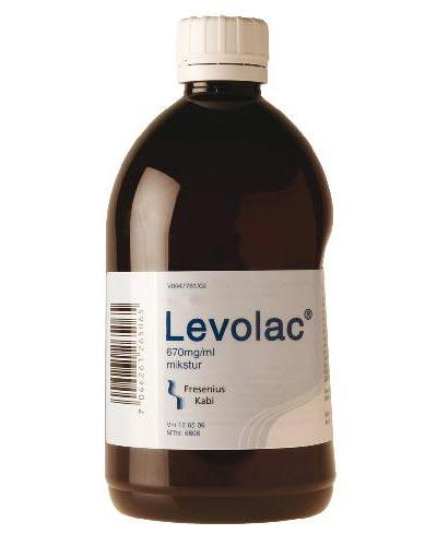 Levolac 670mg/ml mikstur 500ml