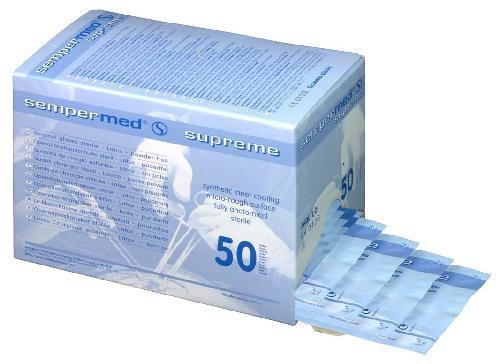 Supreme hanske steril 8,5 50stk