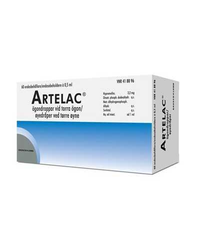 Artelac Øyedråper, oppløsning 3,2 mg/ml 60x0,5ml