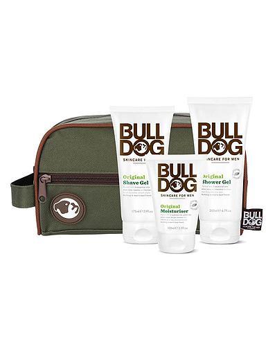 Bulldog hudpleiesett m/toalettmappe 1stk