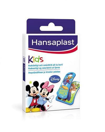 Hansaplast Mikke Mus barneplaster 16stk