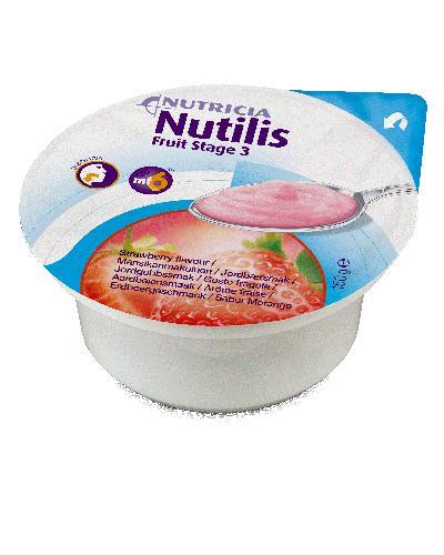 Nutilis Fruit stage 3 fruktpuré jordbær 3x150g