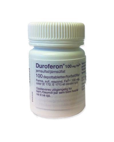 Duroferon 100mg depottabletter 100stk