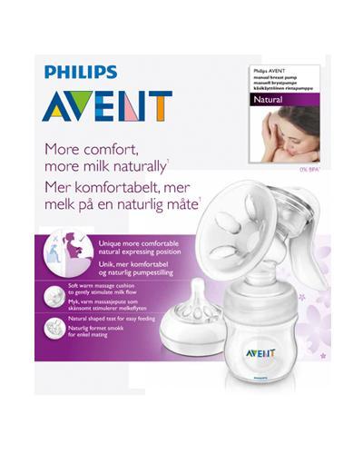 Avent brystpumpe manuell natural 1stk