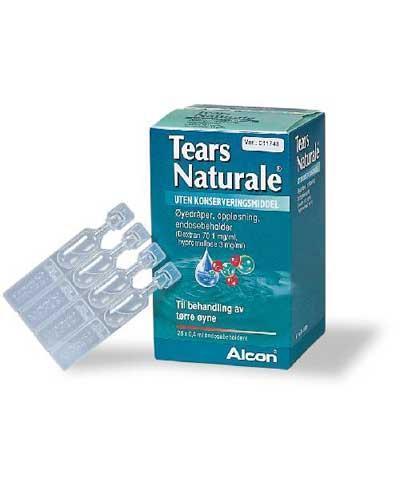 Tears Naturale øyedråper i endosebeholder 28x0,4ml