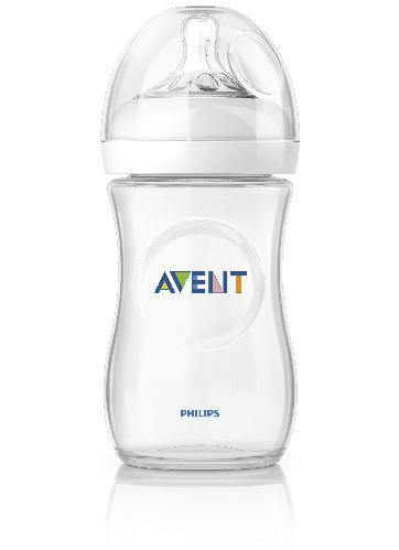 Avent tåteflaske natural 260 ml 1stk