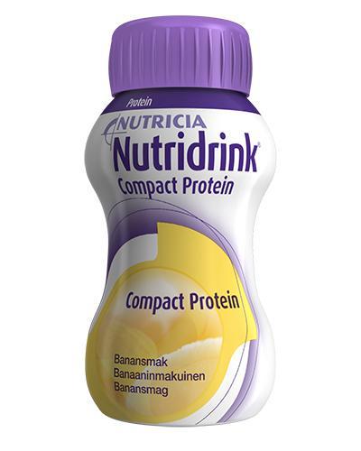 Nutridrink Compact Protein næringsdrikk banan 4x125ml