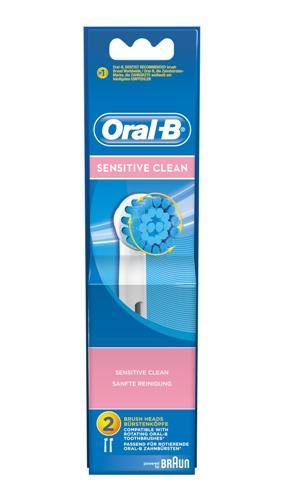 Oral-B sensitive tannbørstehode 2stk