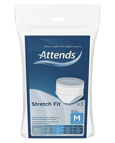 Attends Stretchfit truse str M 3stk
