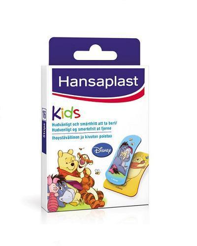 Hansaplast Ole Brumm barneplaster 16stk