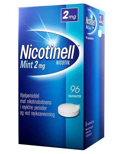 Nicotinell 2mg sugetabletter mint 96stk